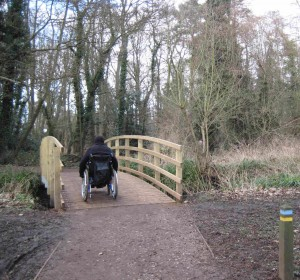 Wheelchair and buggy friendly walks in Surrey and Hampshire